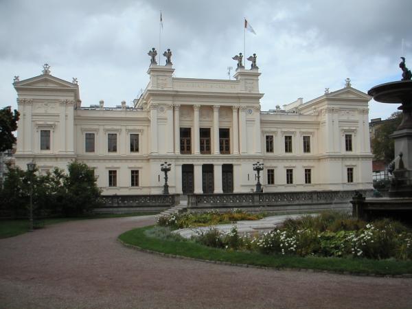 Lund Univeristy Frontside